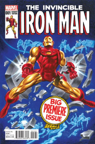 Invincible Iron Man #1 (Timm Classic Cover)