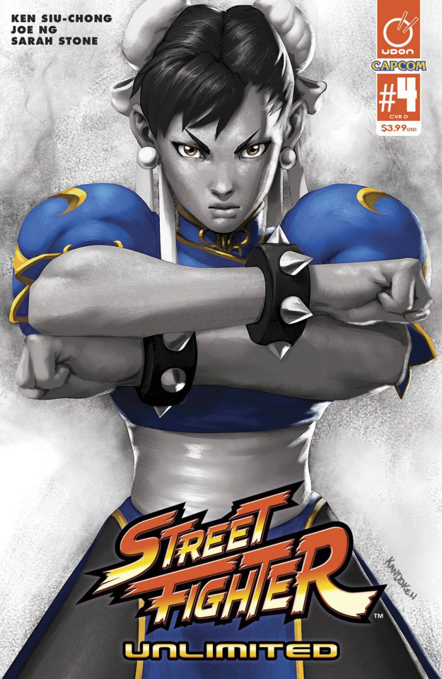 Street Fighter Unlimited #4 (20 Copy Video Game Cover)