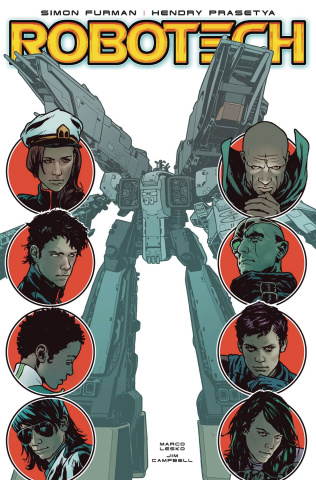 Robotech #17 (Spokes Cover)