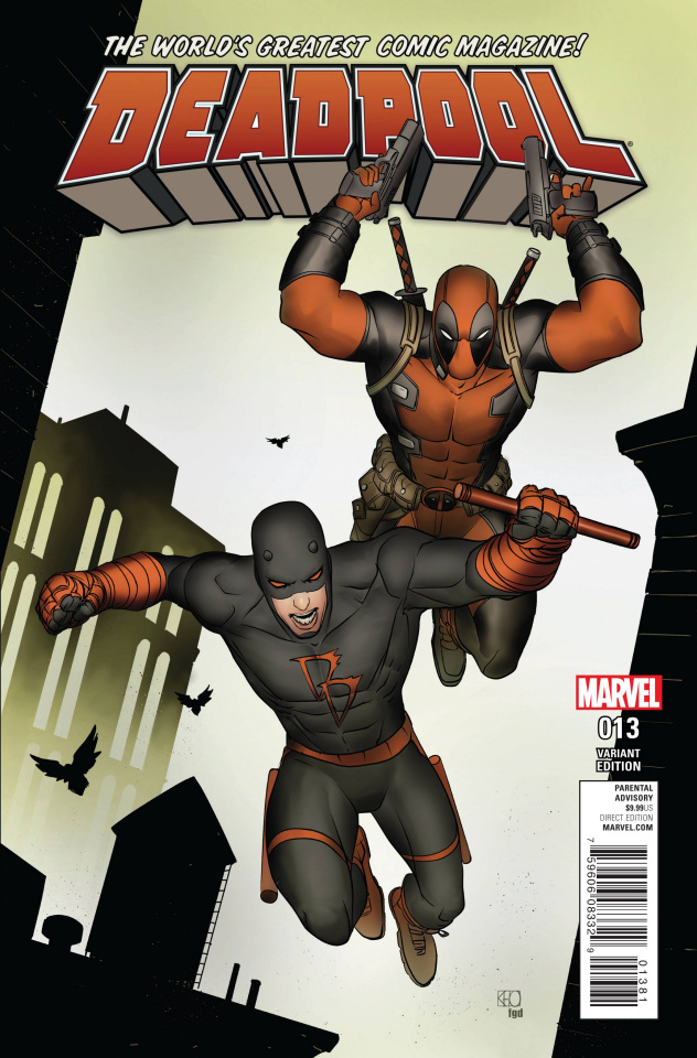 Deadpool #13 (Pham Daredevil Cover)