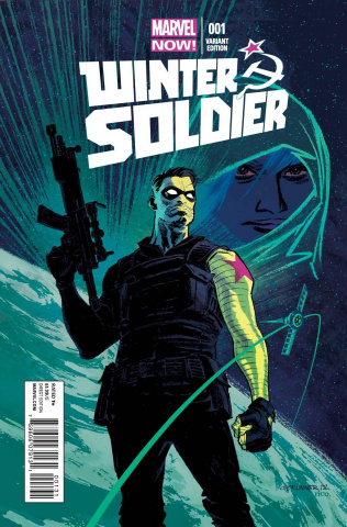 Winter Soldier #17 (Brunner Cover)