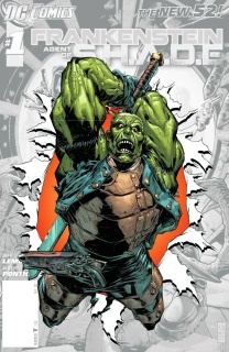 Frankenstein: Agent of S.H.A.D.E. #0