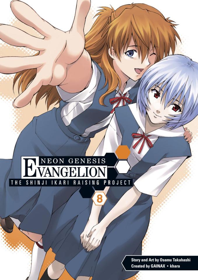 Neon Genesis Evangelion: The Shinji Ikari Raising Project Vol. 8