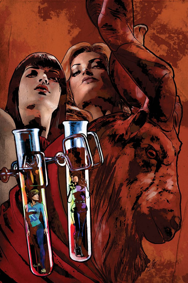Red Sonja and Vampirella Meet Betty and Veronica #5 (Virgin Staggs Cover)