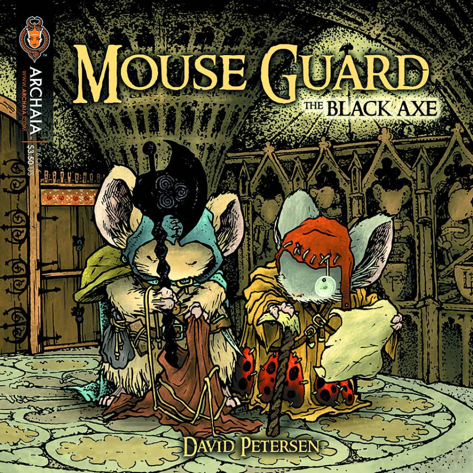 Mouse Guard: The Black Axe #6