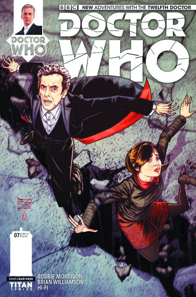 Doctor Who: New Adventures with the Twelfth Doctor #7 (Shedd Cover)