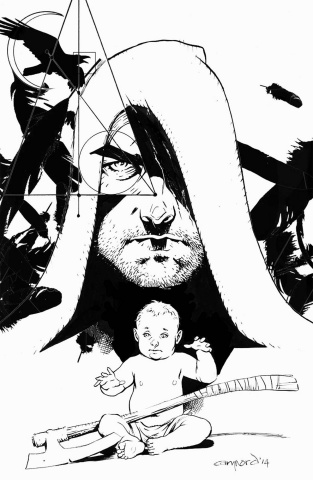 Eternal Warrior: Days of Steel #1 (30 Copy B&W Nord Cover)