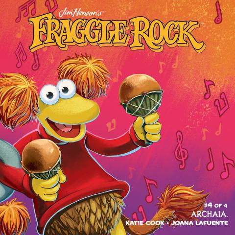 Fraggle Rock #4 (Myler Cover)