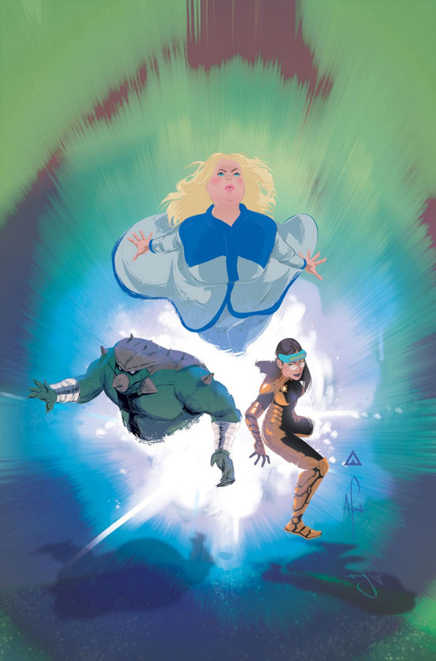 Faith and the Future Force #3 (20 Copy Richardson Cover)
