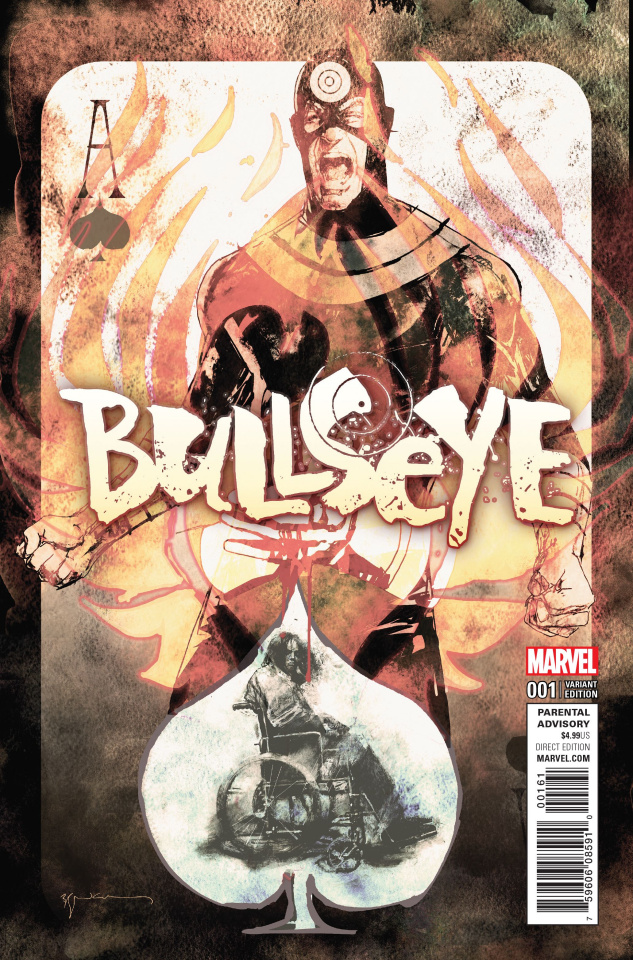 Bullseye #1 (Sienkiewicz Cover)
