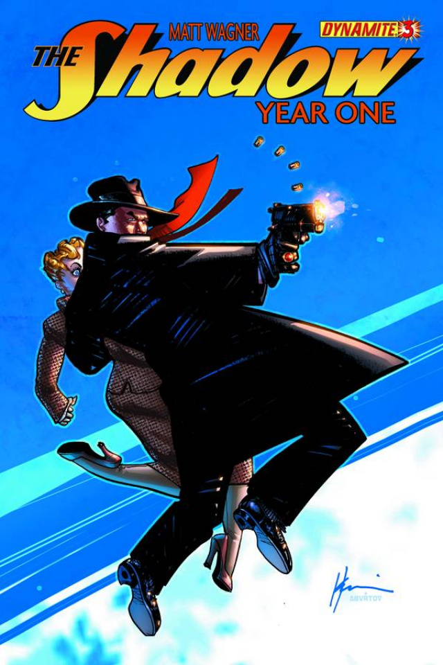The Shadow: Year One #3 (Chaykin Cover)