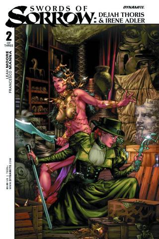 Swords of Sorrow: Dejah Thoris & Irene Adler #2