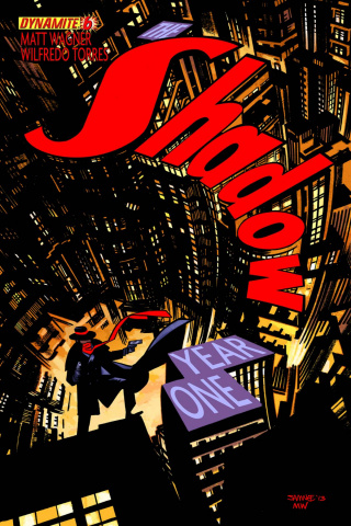 The Shadow: Year One #6 (Samnee Cover)
