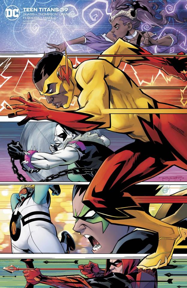 Teen Titans #39 (Khary Randolph Cover)