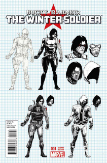 Bucky Barnes: The Winter Soldier #1 (Rudy Design Cover)