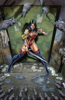Grimm Fairy Tales #6 (Luis Cover)