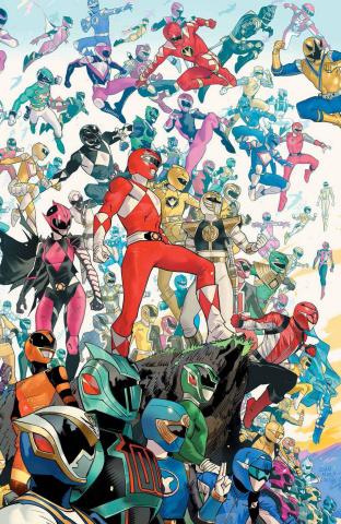 Power Rangers #2 (10 Copy Mora Cover)