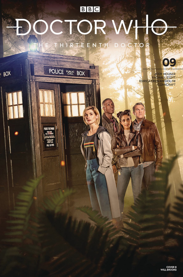 Doctor Who: The Thirteenth Doctor #9 (Photo Cover)