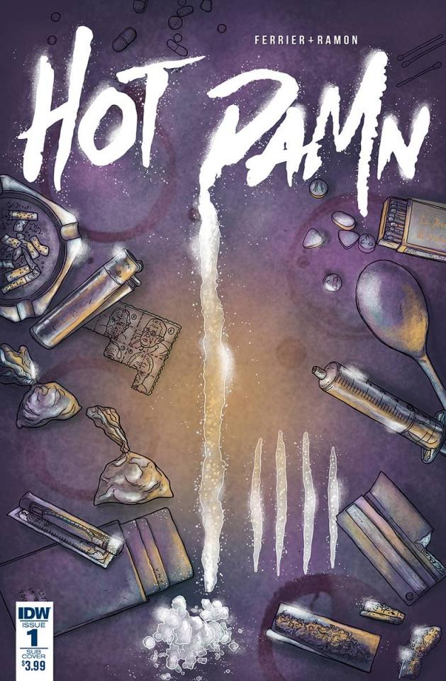Hot Damn #1 (Subscription Cover)