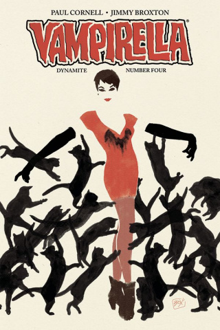 Vampirella #4 (Broxton Subscription Cover)