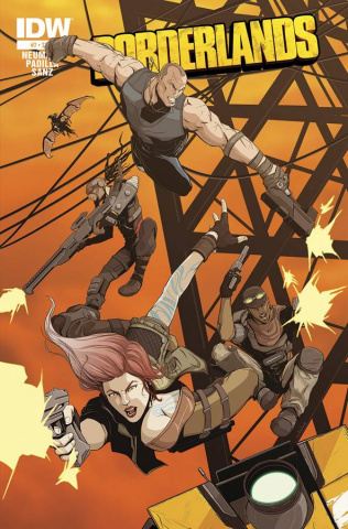 Borderlands: The Fall of Fyrestone #7 (Subscription Cover)