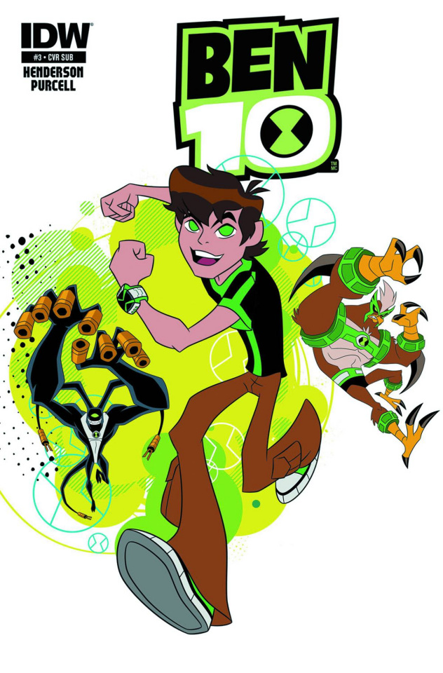 Ben 10 #3 (Subscription Cover)