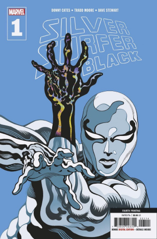 Silver Surfer: Black #1 (Moore 4th Printing)