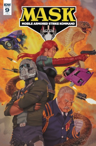 M.A.S.K.: Mobile Armored Strike Kommand #9 (10 Copy Cover)