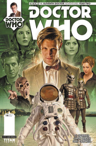 Doctor Who: New Adventures with the Eleventh Doctor, Year Two #14 (Photo Cover)