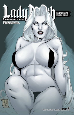 Lady Death: Apocalypse #6 (Bikini Cover)