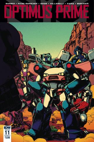 Optimus Prime #11 (Zama Cover)