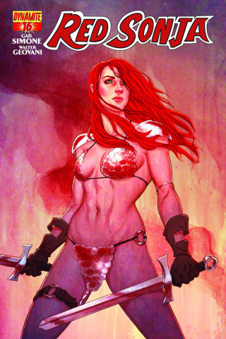 Red Sonja #16 (Frison Cover)