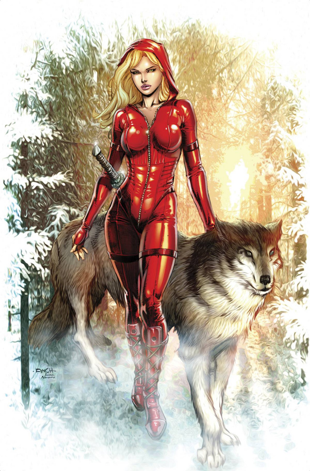 Grimm Fairy Tales: Red Riding Hood 10th Anniversary Special #2 (Finch Cover)