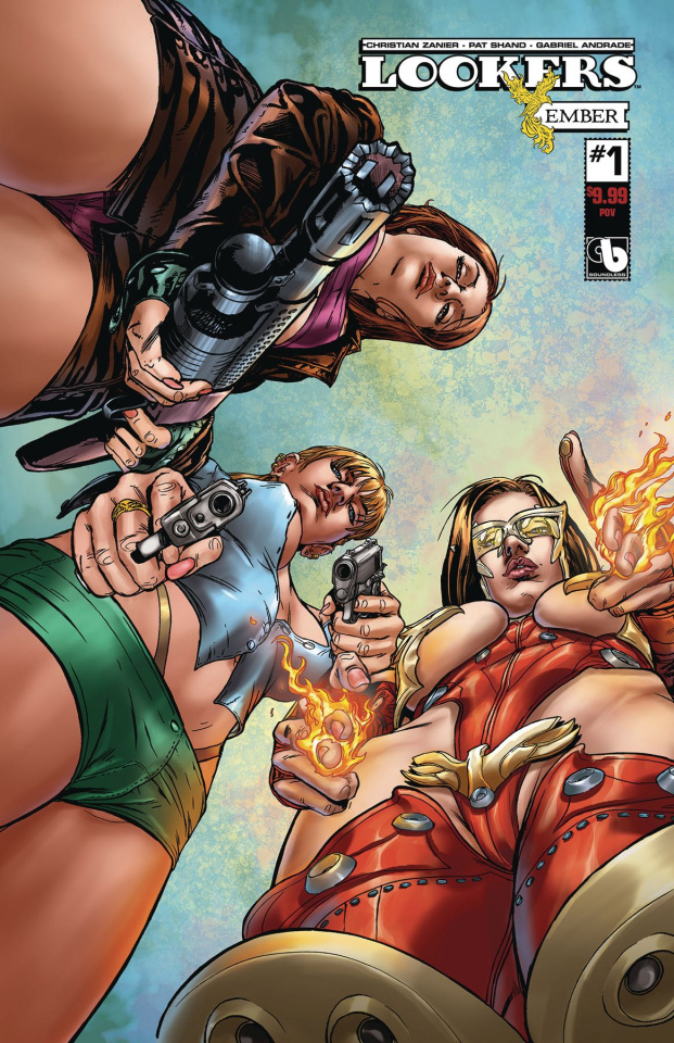 Lookers: Ember #1 (POV Cover)