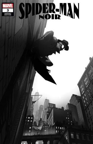Spider-Man Noir #3 (O'Keefe Cover)
