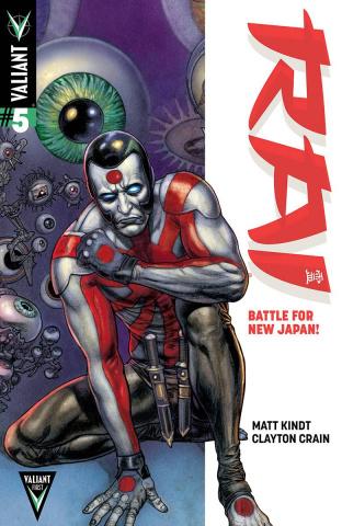 Rai #5 (20 Copy Fabry Cover)
