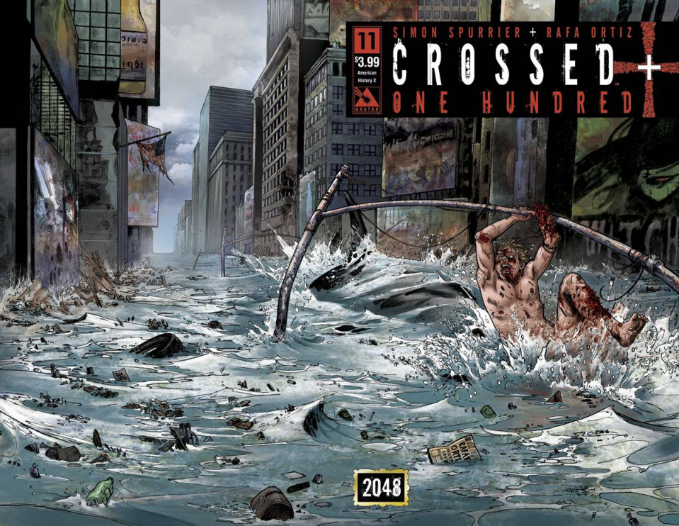 Crossed + One Hundred #11 (American History X Wrap Cover)
