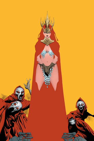 Red Sonja #19 (Lee Virgin Cover)