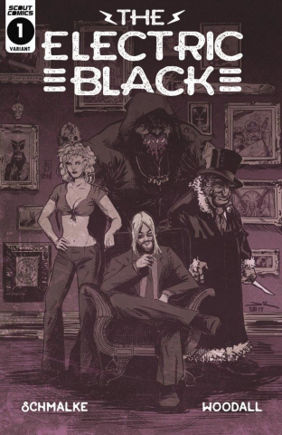 The Electric Black #1 (10 Copy Cover)