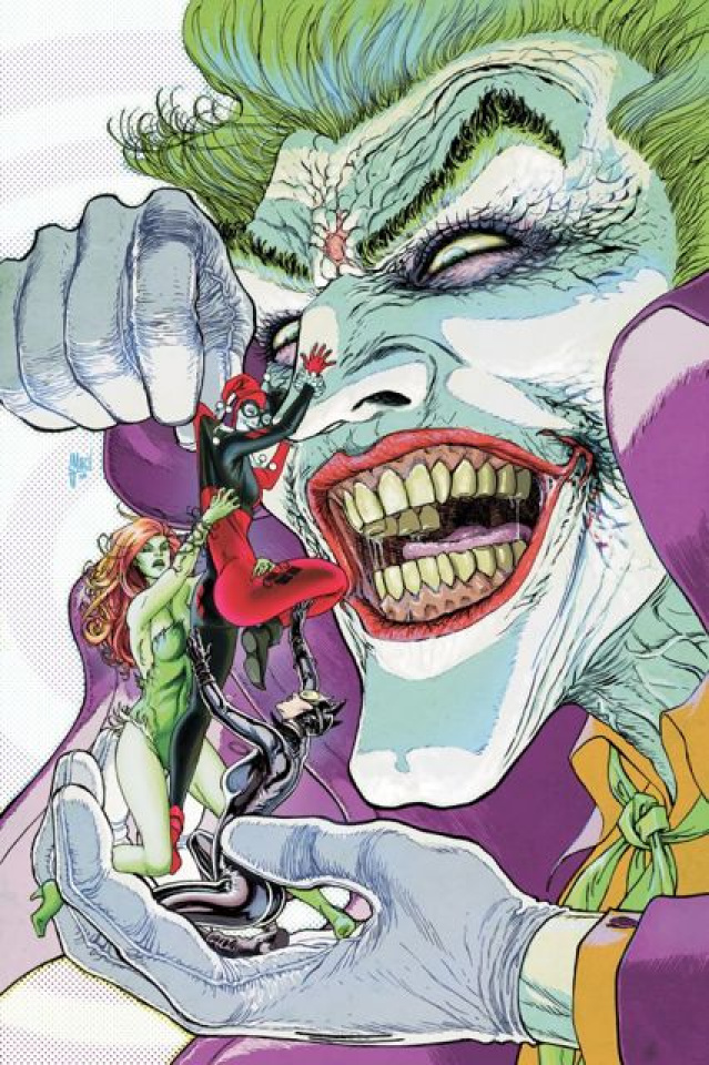 Gotham City Sirens Vol. 4: Division