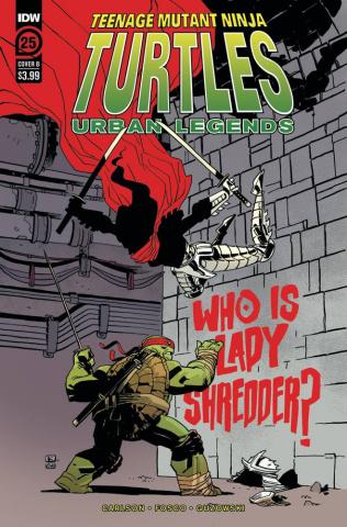 Teenage Mutant Ninja Turtles: Urban Legends #25 (Kuhn Cover)
