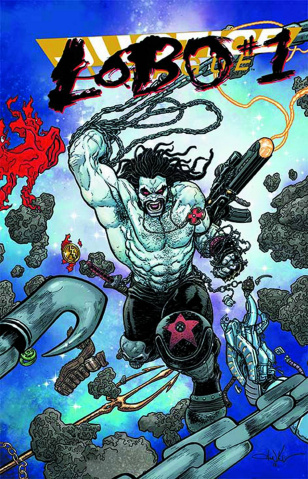 Justice League #23.2: Lobo Standard Cover