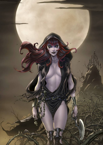Grimm Fairy Tales: Grimm Tales of Terror #13 (Valentino Cover)