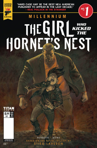 The Girl Who Kicked the Hornet's Nest #1 (Book Cover)