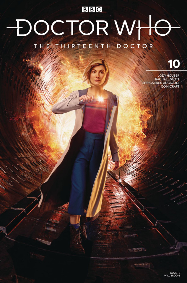 Doctor Who: The Thirteenth Doctor #10 (Photo Cover)