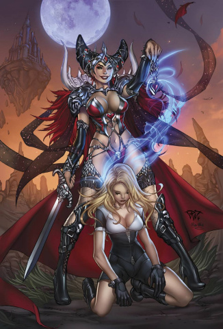 Grimm Fairy Tales: The White Queen #2 (Pantalena Cover)