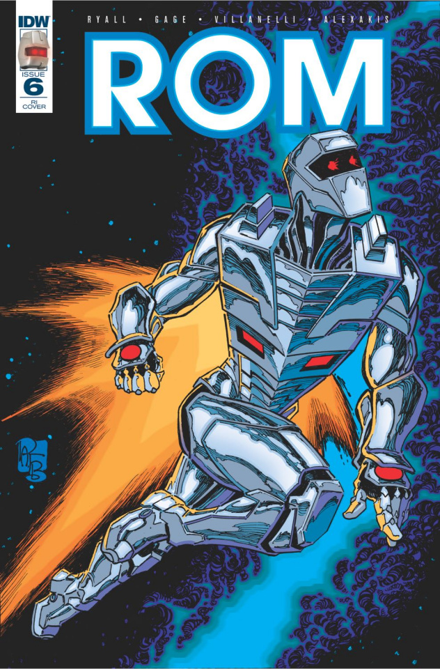 ROM #6 (10 Copy Cover)