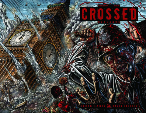 Crossed: Badlands #28 (Wrap Cover)