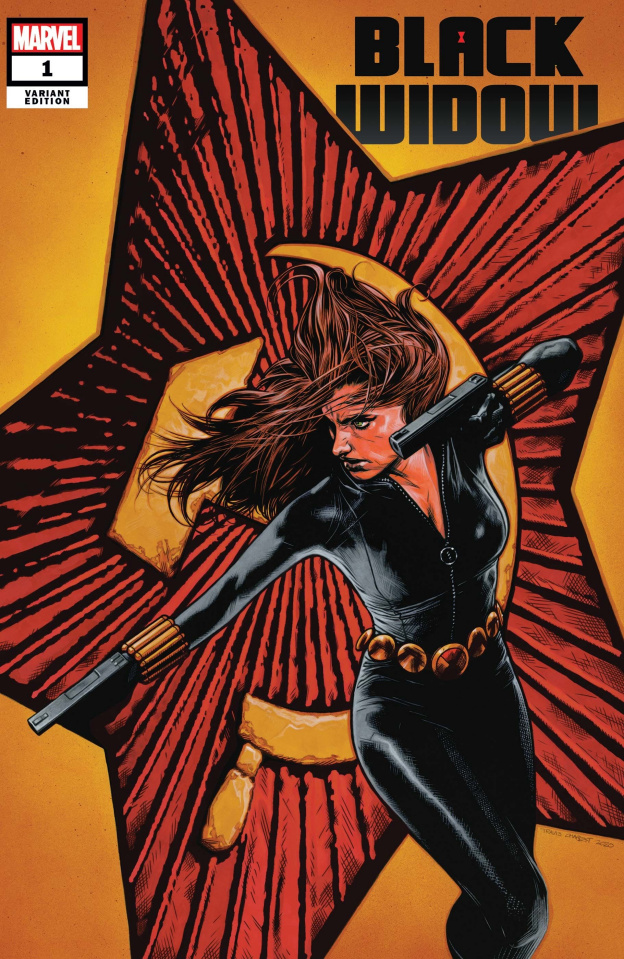 Black Widow #1 (Charest Cover)