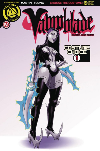 Vampblade #12 (Costume One Cover)
